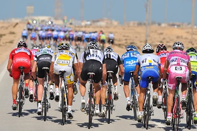 Qatar stage 3: Life in an echelon