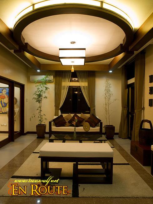 Puerto Galera Manor Living Area