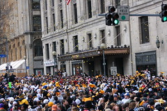 Confetti ~.`',~ (Deepak & Sunitha) Tags: pittsburgh nfl super bowl victory parade title superbowl sixth celebrate 2009 steelers champions grantstreet gosteelers terribletowel herewego steelernation xliii sixburgh slashd