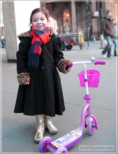 Golden Girl (Mini Hipster - kids street fashion)