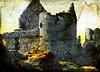 Irish castle with texture (dreamzdigital) Tags: memoriesbook
