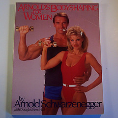 It's Arnold Schwarzenegger helping women out! by nickandnessies