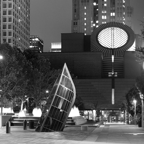 SF MOMA at Night