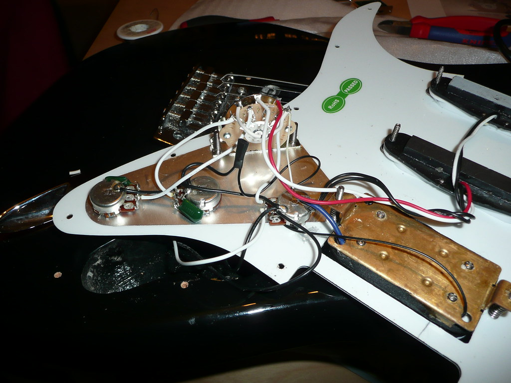 The World\'s Best Photos of stratocaster and wiring - Flickr Hive Mind