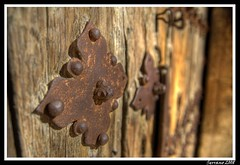 Oxido ( ascomiceta) Tags: puerta nikon d70 oxido hdr remache ascomiceta tff1 tff2