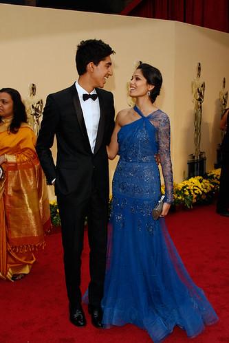 Premios Oscar Dev Patel y Freida Pinto