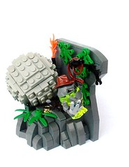 Sulfurix Jones (pitrek02) Tags: jones power lego space indiana miners moc sulfurix
