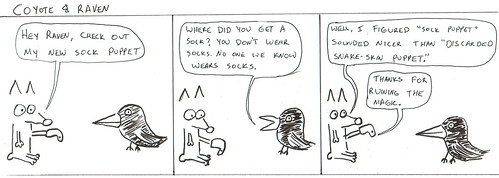 366 Cartoons - 030 - Coyote and Raven
