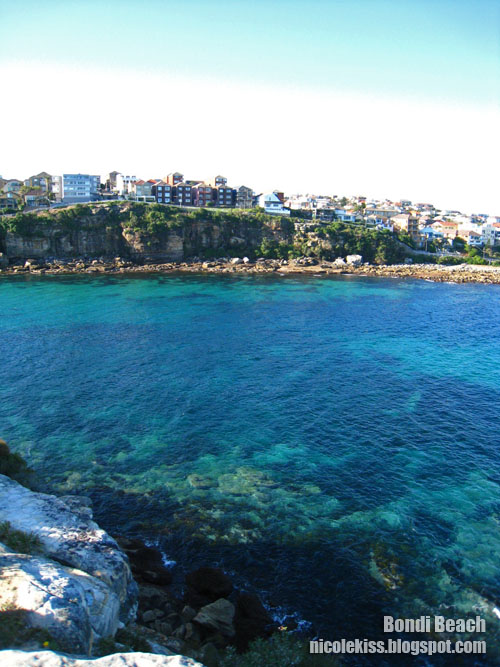 beautiful landscape at bondi beach