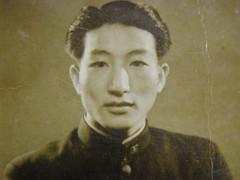 日據時代同事的父親-帥哥楊添燈
