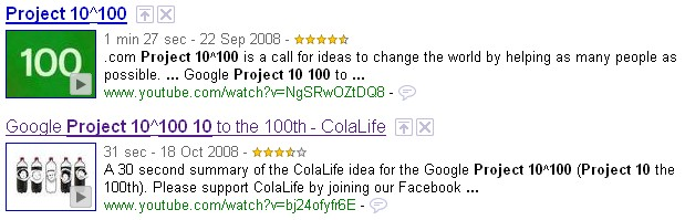 ColaLife Animation in Google Search