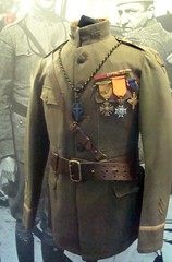 WWI Chaplain's Uniform (Svadilfari) Tags: museum army uniform catholic unitedstates connecticut military wwi ct newhaven dsc knightsofcolumbus kofc chaplain medals usarmy conn fallriver unitedstatesarmy newhavenct militaryuniform armyuniform newhavenconnecticut distinguishedservicecross croixdeguerre knightsofcolumbusmuseum armychaplain newhavenconn chaplainsuniform angelofthetrenches joaobaptistadevalles militarychaplain crouxdeguerre wwichaplainuniform fatherjohnbdevalles frdevalles johndevalles devalles espiritosantochurch