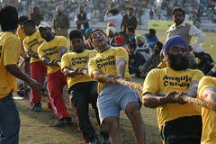 Tug of war (Ajit Pal Singh) Tags: two horses india tractor game history sports sport festival youth rural speed photo dance high construction war colorful village bullock action folk bare events traditional religion culture mini games event riding winner vehicle warrior effort tug olympics sikh cart agriculture punjab popular 2009 schedule kila sponsor bravery agricultural daredevil stunt tugofwar bhangra deliver courage gallop daring gallary implements ludhiana compete galloping quila footed grewal kabbadi raipur giddha kilaraipur mywinners tractive