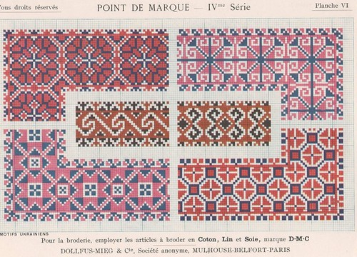 20th century french patterns