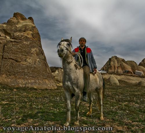 Cappadocia Horseman by voyageAnatolia