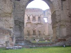 Thermes de Caracalla. (L o u) Tags: de caracalla thermes