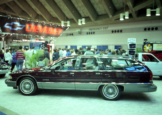 wagon chevy 1991 carshow stationwagon caprice baltimoremd baltimoreconventioncenter motortrendinternationalautoshow