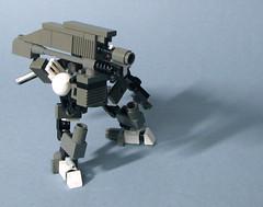 bazooka (norm_galloway) Tags: robot lego mech minibot steampunk hardsuit