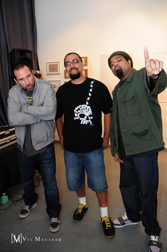 Paul, Man One and Rakaa...