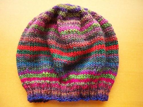 Striped beret