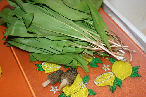 Ramps and Morels, Spring is Good