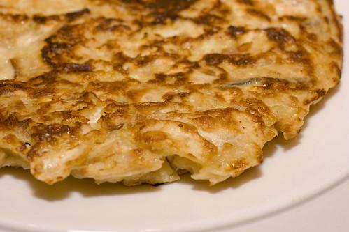 Matzoh Brei Pancake Edge 1