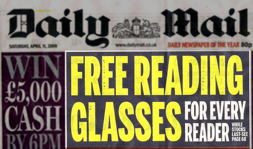 Daily Mail FrontPage