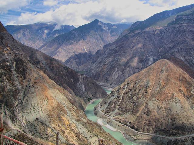 First Bend in Yangtze-Yunnan Province-China