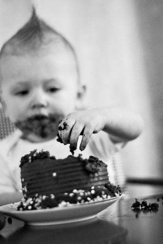 Birthday-Cake-B_W
