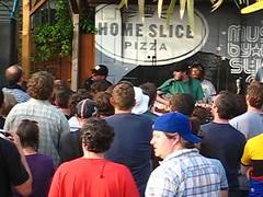 Jason Lytle @ Home Slice, SxSW 2009 (matthannon) Tags: austin movie texas tx grandaddy jasonlytle homeslicepizza jeddy3 sxsw2009
