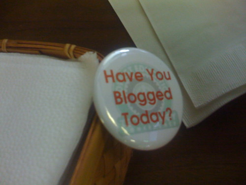 Have You Blogged Today?
