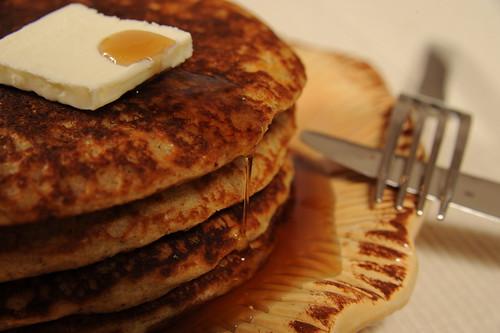 Multi Grain Muesli Pancakes