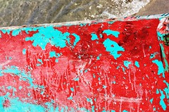 Red n Blue (terry.1953) Tags: blue red boat costarica paint colours caribbean tourquoise peurtoviejo colorphotoaward