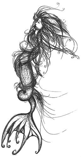 mermaid blank