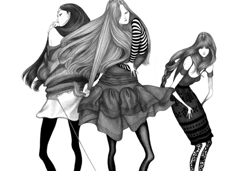3517689510 bfabf5c163 o 30 Fashion Illustrators You Cant Miss Part 1