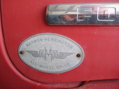 Marmon Herrington badge (Hugo90-30 million views to date) Tags: ford truck herrington marmon