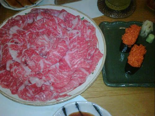 shabu shabu maezawa beef :9 (by elyse.)