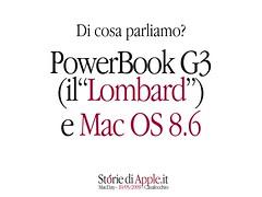 Storie di Apple - MacDay 2009 - DI cosa parliamo?
