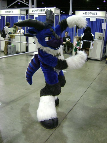 A fursuiter