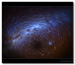 Fisheye to the sky... (Chantal Steyn) Tags: sky stars star nikon space trails fisheye nikkor f28 stardust celestial southpole milkyway d300 105mm starcluster goughisland
