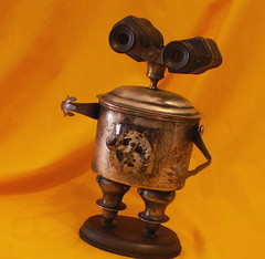 robot assemblage sculpture * SHAKESPEARE - Steampunk Jewelry Box Robot (Reclaim2Fame) Tags: sculpture metal altered vintage robot box recycled handmade assemblage oneofakind ooak humor personality robots binoculars figure figurine creatures creature foundobject bots trinket alteredart jewelrybox steampunk merz humanfigure recycledmaterial trinketbox metalrobot jewelryholder keepsakebox robotsculpture usableart artrobot reclaim2fame assemblagerobot willwagenaar williamwagenaar junkrobot foundobjectrobot reclaimrobot reclamationart wagenaarstudio
