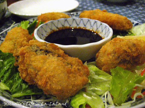 Hana No Ki- Fried Oysters