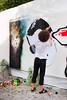 La nuit du Street Art 2009 - Lundi 25 mai 2009 (un oeil qui traîne) Tags: streetart paris pastedpaper stencil sadhu affiche pochoir sich 06è stencilhistoryx nuitdustreetart