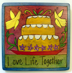 Plaque-Love Life Together
