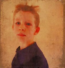 The Ritalin Kid (Martin Hoogeboom) Tags: boy watercolor sketch acrylic mixedmedia adhd ritalin redmatrix