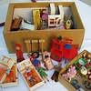 Box full of Goodies... (*blythe-berlin*) Tags: dolls sweden schweden attic 70s dollhouse caco dachboden puppenhaus lundby biegepüppchen