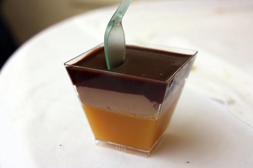 Cafe Imperial - cokoladova pena s pomerancovym zele