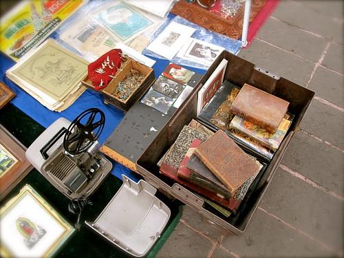 Libros en una caja