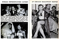 Female Impersonators at Chicago's Annual Ball - Jet Magazine, November 13, 1952 (vieilles_annonces) Tags: old people usa black history vintage magazine print scans fifties photos african negro glbt retro ephemera nostalgia photographs american 1950s transvestite americana colored 50s magazines dragqueen articles folks oldphotos civilrights newsclipping blackhistory 1952 vintagephotos africans chicagoillinois africanamericanhistory negroes peopleofcolor vintagephotographs femaleimpersonator vintagemagazine coloredpeople negrohistory coloredfolk blacknews