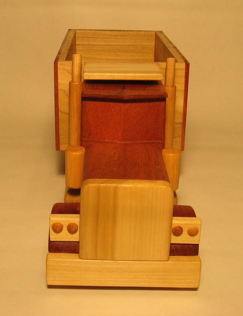 Wooden Dumptruck